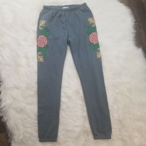 Wildfox Sommers Joggers - Indigo Rose